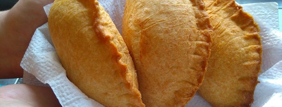 Delicious and fresh empanadas
